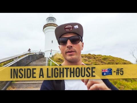 INSIDE A LIGHTHOUSE  | 🇦🇺 Australia Daily Vlog #5 | Byron Bay to Brisbane