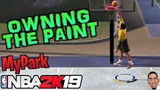 MY FIRST MyPark GAME! NBA 2K19 MyPark - COME BACK KING! #1