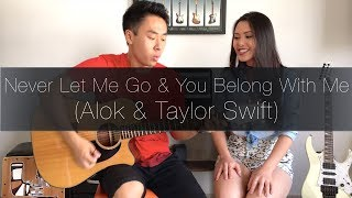 Baixar (Alok, Taylor Swift) Never Let Me Go & You Belong With Me - Rodrigo Yukio & Pamela Yuri