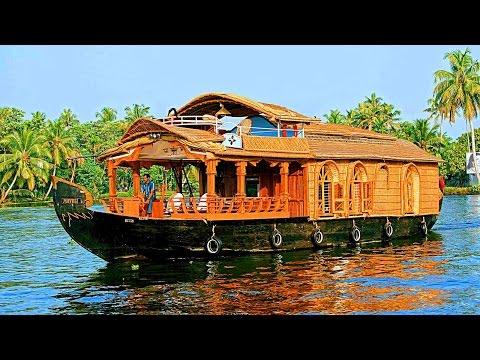 Alleppey Houseboat Trip - Kerala, India - ആലപ്പുഴ ഹൗസ് ബോട്ട്