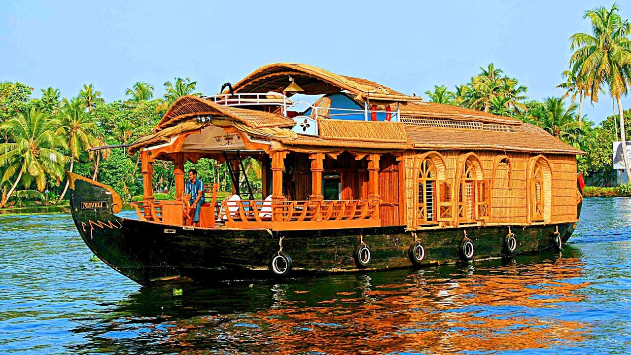 Alleppey houseboat trip kerala india House photos gallery