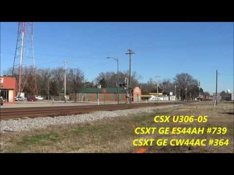 Exploring The A-Line Between Rocky Mount & Garysburg NC With Amtrak 156 1/10/2015