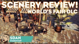World's Fair DLC Scenery Review! | Planet Coaster