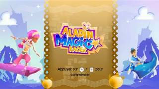 Aladdin Magic Racer Nintendo WII