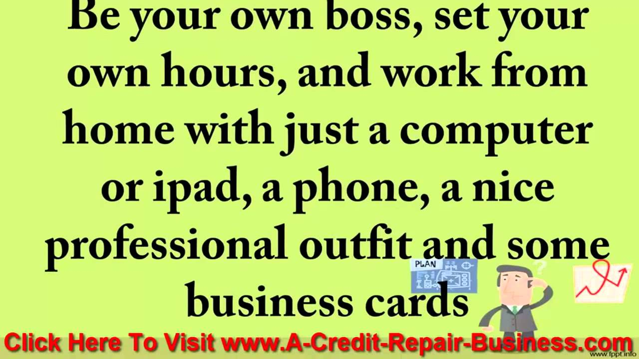 Credit repair business opportunity licensed reseller youtube credit repair business opportunity licensed reseller colourmoves