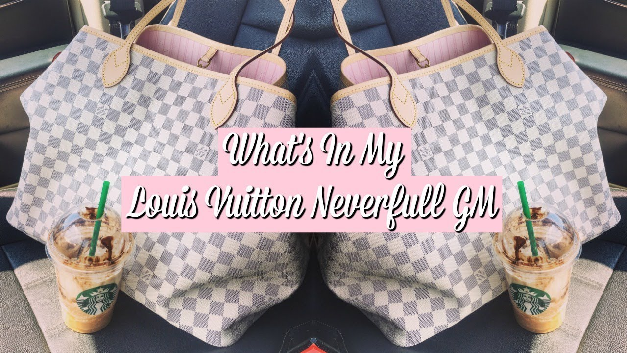 b2128c26f193 What s In My Bag  Louis Vuitton Neverfull GM 2018