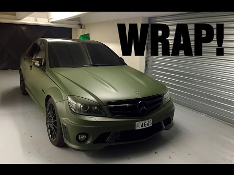Gmk001 Mercedes C63 Amg Before After Youtube