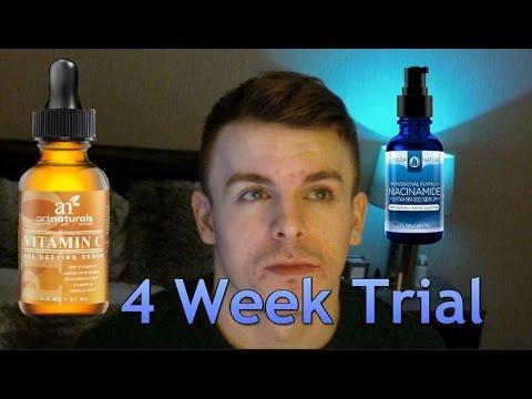 Vitamin C + Niacinamide Serum Review - A 4 Week Trial