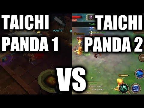 Taichi Panda 1 vs Taichi Panda 2