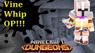 Vine Whip Build Minecraft Dungeons Jungle Awakens