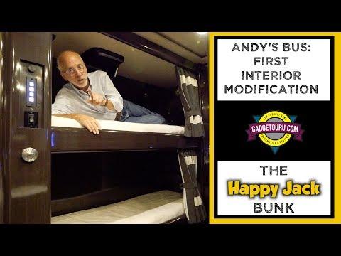Motorhome Interior Mod - The Happy Jack Bunk