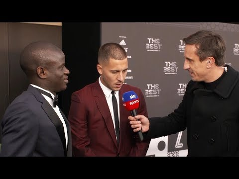 Kante and Hazard on why Modric deserved to win FIFA The Best Award!