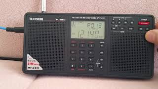 tECSUN PL-398MP World Receiver..Excellent reception