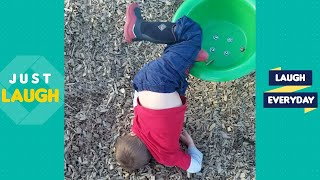 TRY NOT TO LAUGH - Funny Videos Baby Fails Compilation 2020 - Kids Fails