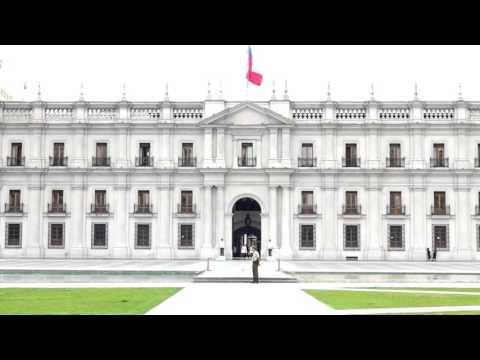 La Moneda Palace in Santiago de Chile