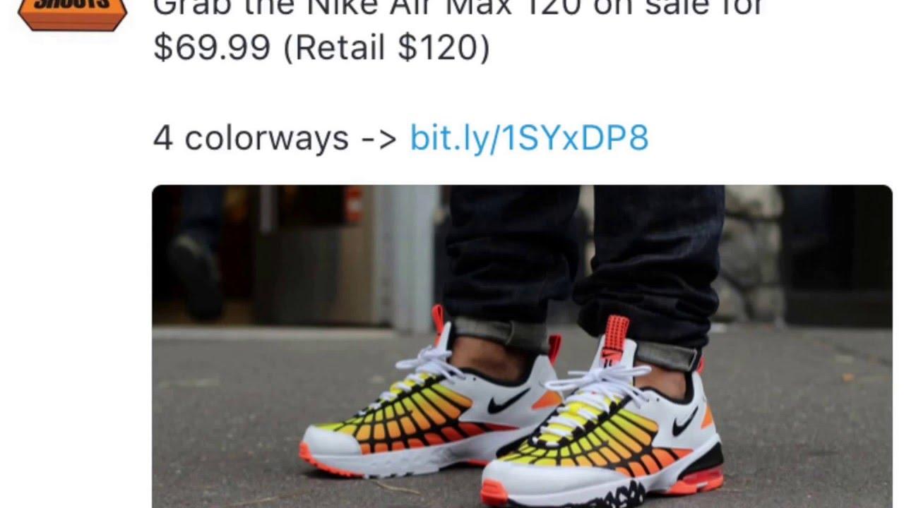 Nike Air Max 120 Sale INFO!