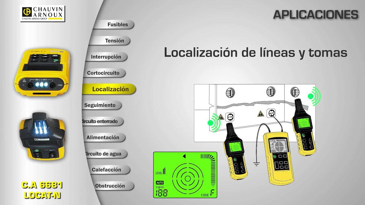 Localizador de cables locat n youtube - Detector de cables ...