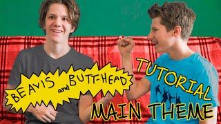 Разбор Бивис и батхед на гитаре // Beavis And Butt-head main theme guitar tutorial