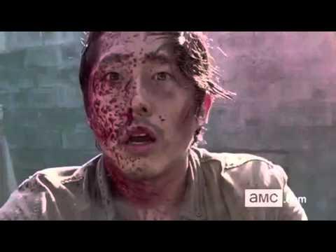 The Walking Dead Glenn Dies