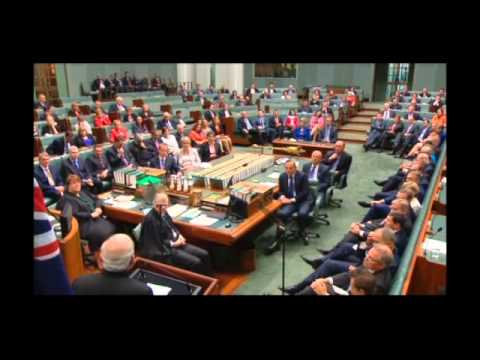 Modi address to Australian Parliament - 18 Nov 14