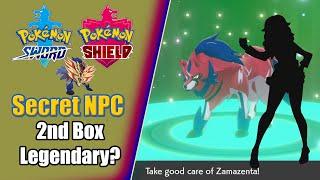 Secret Hidden Trade NPC?! 2nd Box Legendary Tutorial - Pokémon Sword and Shield