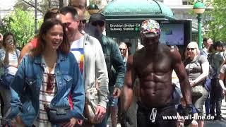 sexy body, street acrobatics dancers NYC