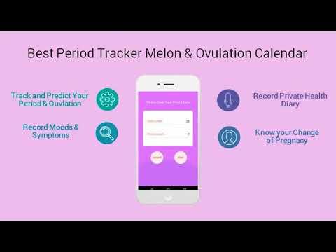 Period Tracker Melon & Ovulation Calendar