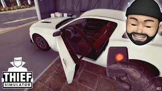 STEALING A SPORTS CAR!! | Thief Simulator #15