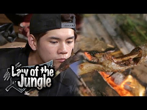 Let's Take A Look At Seong Wu's Grilling Skills? [Law Of The Jungle Ep 326]