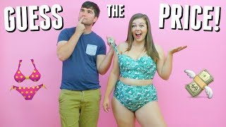 Husband Guesses Bikini Prices! Cheap Vs Expensive Swimsuits!
