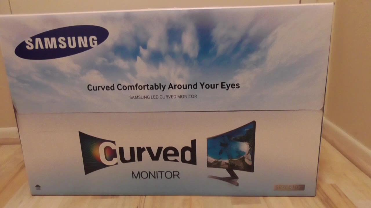 Samsung 27 Curved Widescreen Monitor S27e510c Costco Review Youtube