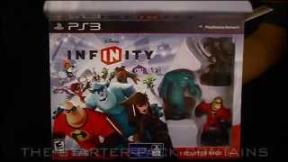Unboxing of Disney Infinity Starter Pack (PS3)
