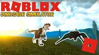 Roblox Dinosaur Simulator - Spider Troodon Animations! + Eldering Avi! Part 1