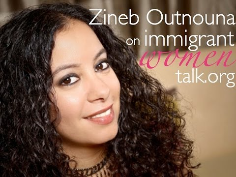 Turning the passion for languages into a business. Zineb Outnouna - a Moroccan in the USA