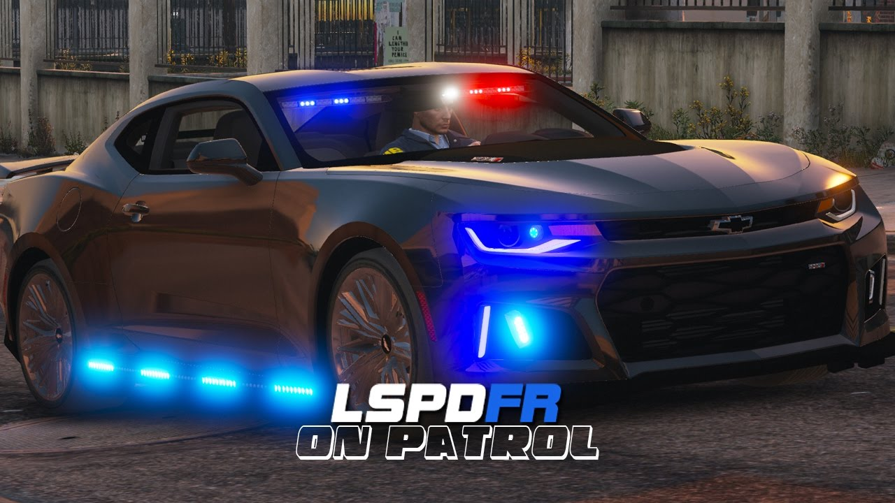 Lspdfr Day 457 Unmarked Camaro Zl1 Youtube