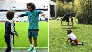 Marcelo with his children