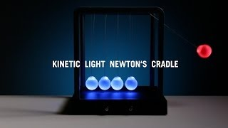 Kinetic Light Newton's Cradle From Thinkgeek