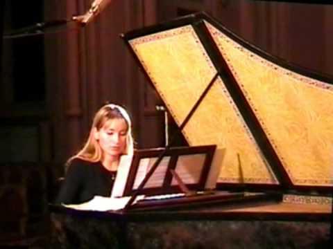 Elena Zhukova. J.S.Bach French Suite Gavotte G-dur