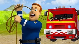 Fireman Sam US New Episodes | Shape up and Shine ⭐ Camping Saves - S.10  🚒🔥 Cartoons for Children