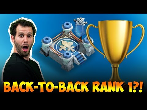 Rank 1 Back-to-back?!