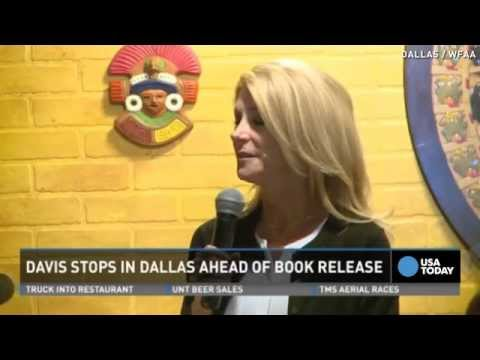 Wendy Davis speaks publicly after abortion revelation