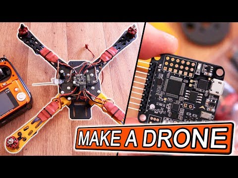 Make a DRONE - FULL Guide - All eBay parts (~150$) - YouTube