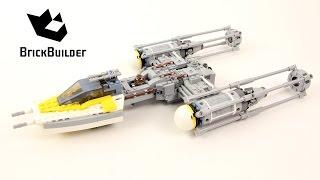 Lego Star Wars 75172 Y-wing Starfighter- Lego Speed Build