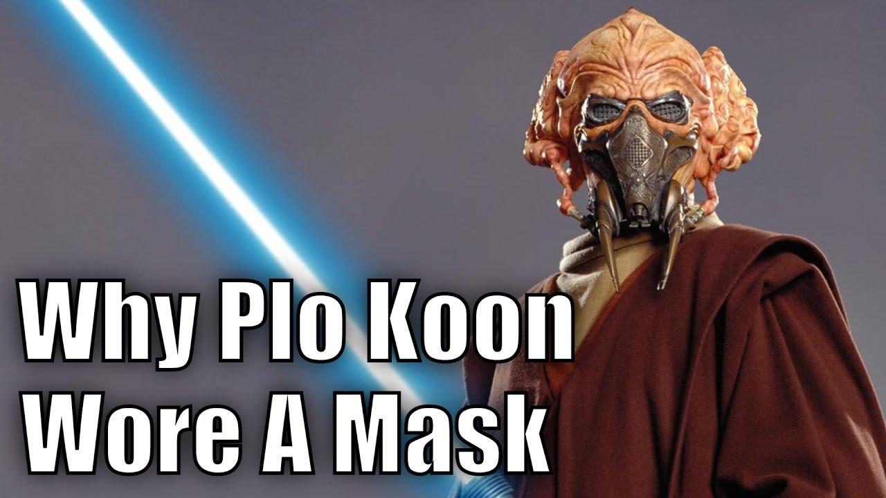 latex mask koon Plo