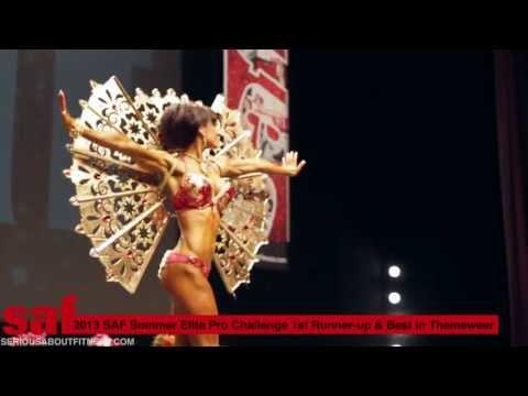 SAF Television: Backstage SAF -- Melanie's Top-Themewear Prize