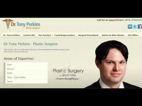 Hear Dr. Tony Perkins mentioned on Ryan Seacrest's Radio Show, Plastic Surgeon, NYC, NJ