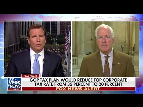 Cornyn Urges Democrats to Join Tax Reform Effort