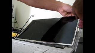 laptop screen replacement how to replace laptop screen hp pavillion dv6 2154 ca