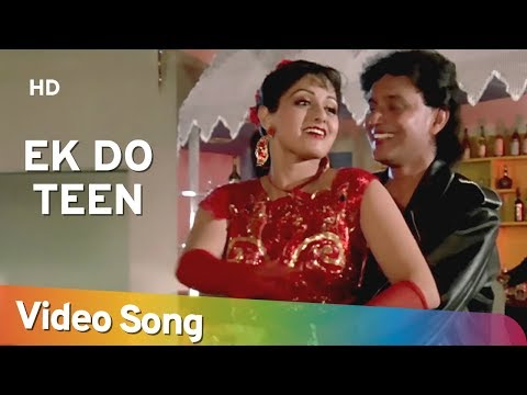 Ek Do Teen  Mithun  Srdevi  Waqt Ki Awaz  Bollywood Songs  Alisha Chinoy and Sudesh Bhosle