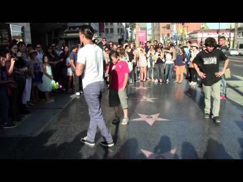 Andrew Jacobs from paranormal activity the marked ones, Breakdancing in Hollywood.